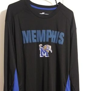 Colosseum Memphis Tigers Size XXL Long sleeve